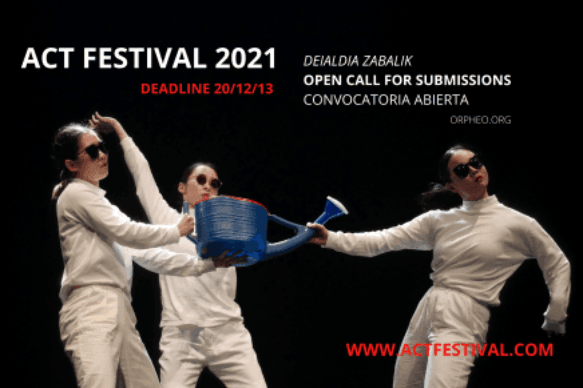 ACT 2021 Festival Internacional de Escena Emergente