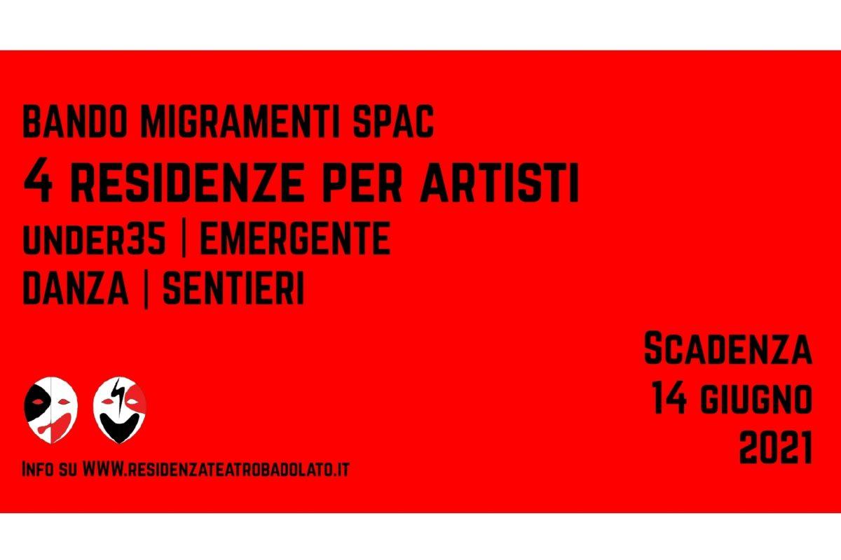 Bando migramenti banner Teatro del Carro