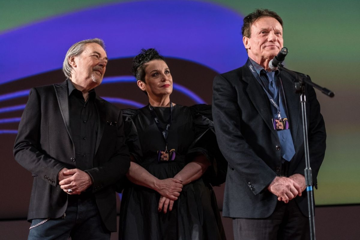 Moscow Film Festival 2019 Roberta Torre Mauro Pagani Massimo Ranieri film Riccardo va all Inferno