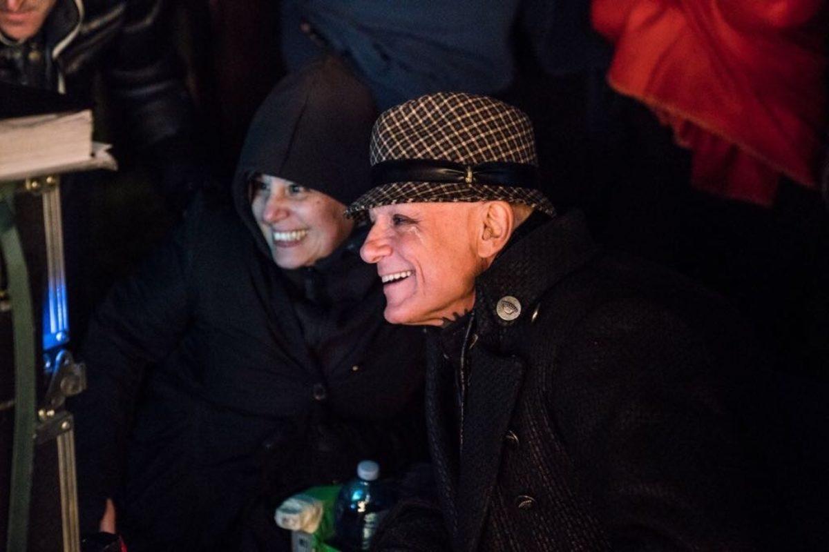 Roberta Torre Massimo Ranieri sul set Riccardo va all Inferno